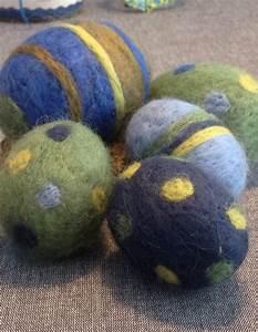 Grün Und Blau : filzeier gr n und blau gepieckst handmade kultur ~ Markanthonyermac.com Haus und Dekorationen