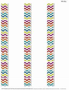 chevron fever free printable labels worldlabel blog With address stickers labels free