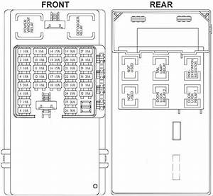Hyundai Trajet Fuse Box Diagram