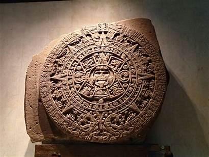 Aztec Calendar Sun Mexico Stone Sol Del