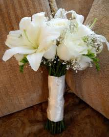 bouquet wedding the flower white bridal bouquet