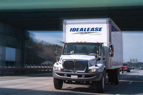 service leasing service truck leasing idealease inc