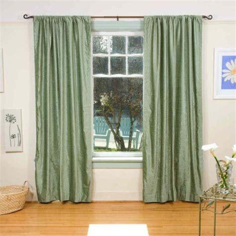 olive green rod pocket velvet curtain drape panel