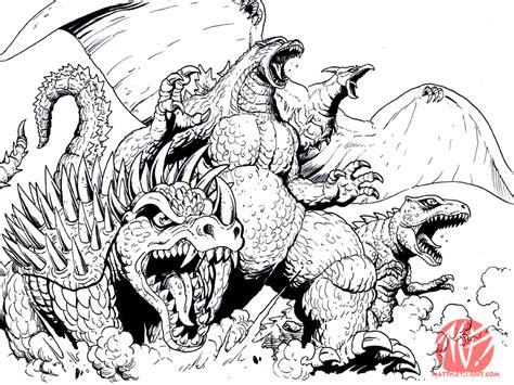 Kaiju Team Eat Yo Face By Kaijusamurai On Deviantart