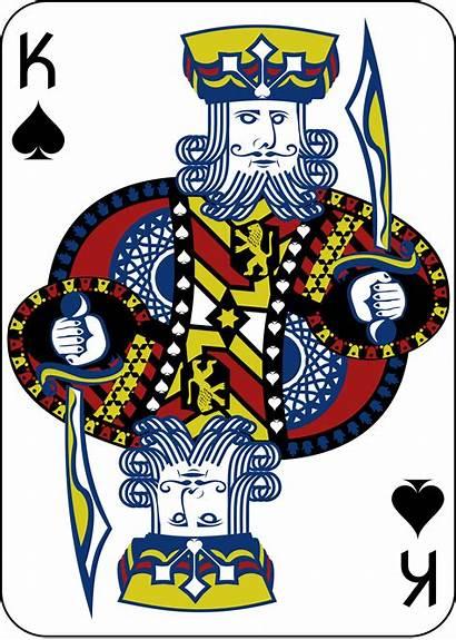King Card Spades Clipart Poker Bridge Transparent