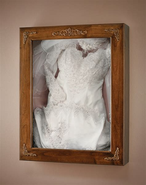 preserve dress in shadow box diy crafts