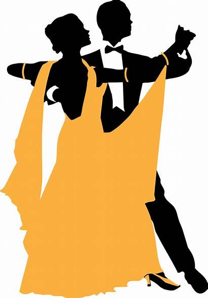 Ballroom Silhouette Dancing Dance Clipart Waltz Clip