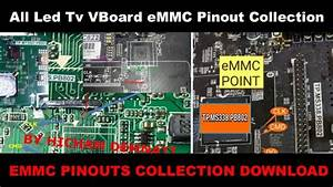 All Smart Led Tv Board Emmc Pinout Collection Free