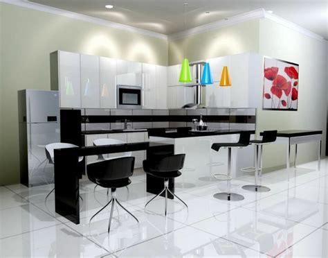 cuisine blanche plan de travail noir cuisine blanche avec plan de travail noir 73 idées de