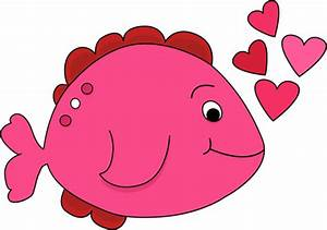 Cute Valentine's Day Fish Clip Art - Cute Valentine's Day ...