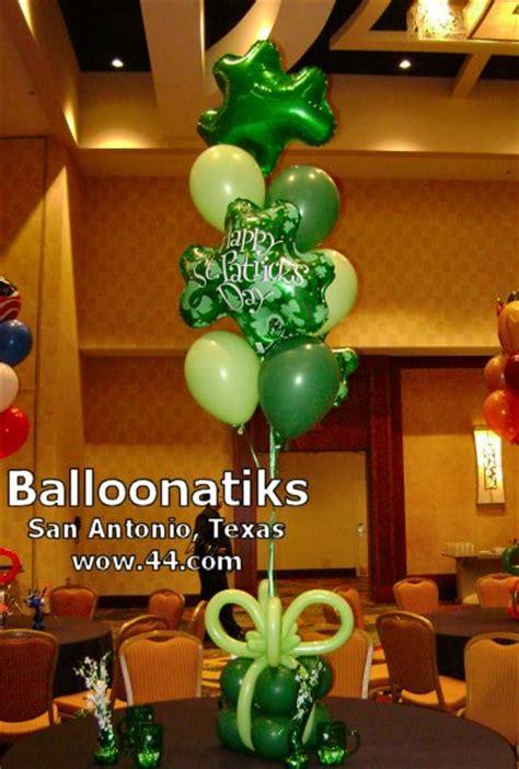 st patricks balloon delivery  decoration san antonio tx texas balloonatiks wow