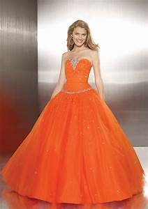 Best wedding ideas brightly with romantic orange wedding for Orange dresses for wedding