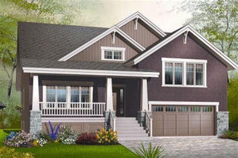 Craftsman Style House Plan   4 Beds 2.5 Baths 2309 Sq/Ft