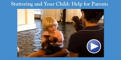 for parents of pre schoolers stuttering foundation a 688 | Stuttering and your child video