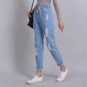 Yichaoyiliang 2017 Summer Ripped Boyfriend Jeans for Women ...