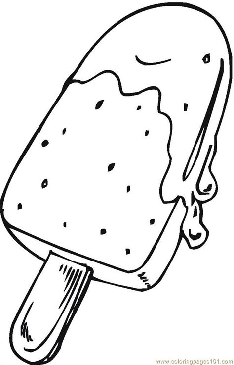 coloring page  desserts coloring pages