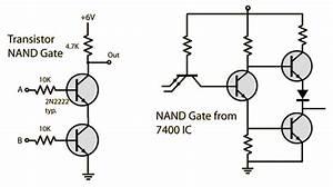 How To Make Logic Gates Using Nand Gate