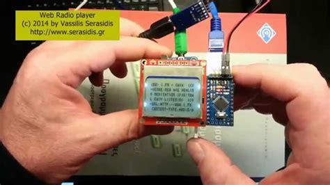 Arduino Webradio Player Youtube