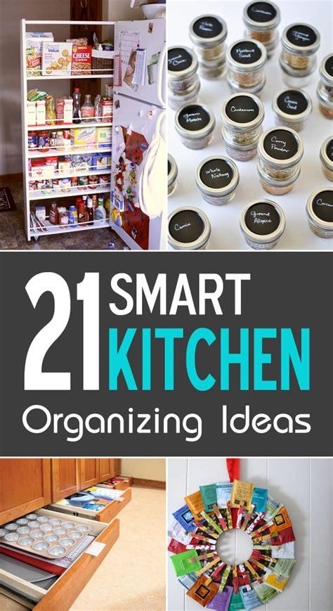tips to organize kitchen 21 smart kitchen organizing ideas 6266