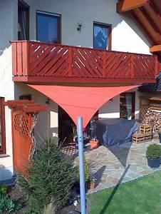 Segeltuch Für Balkon : die 19 besten bilder zu sonnensegel auf pinterest sonnensegel garten und terrasse ~ Markanthonyermac.com Haus und Dekorationen