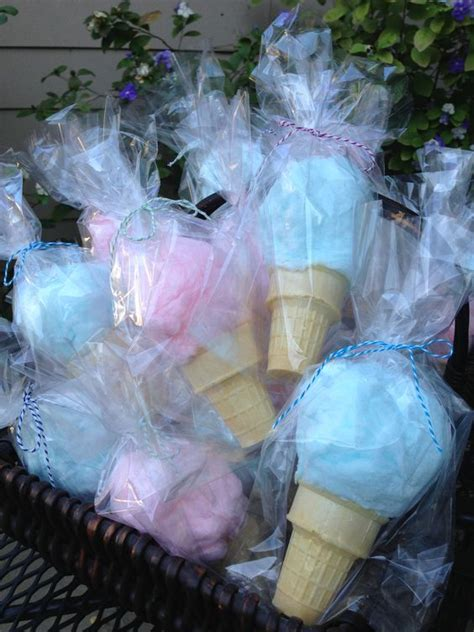 Cotton Candy Cones (Party Favors)   Crafty Morning