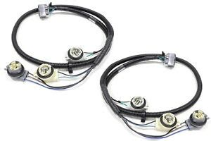 Oem New Tail Light Wiring Harness Rear Right Left Set