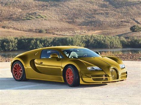24 Karat Gold Bugatti Veyron Super Sport