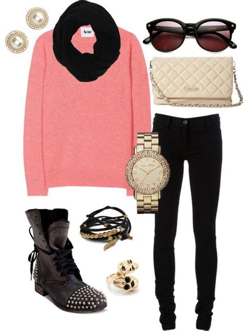 17 Latest Style Winter Outfit Combinations for Teen Girls