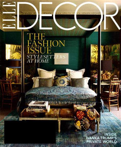 home decor magazines elle decor magazine 4 50 a year