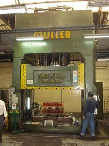 Used Müller ZE 630-32 24 Double Column Drawing Hydraulic