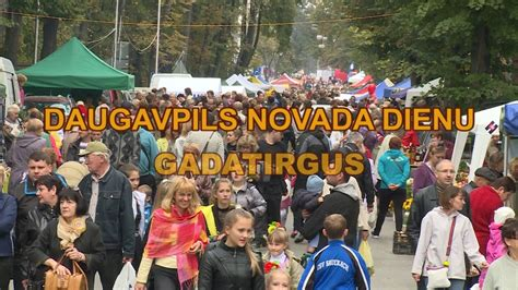 Daugavpils novada gadatirgus 2015 - YouTube
