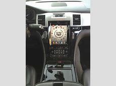 Find used 2007 Cadillac Escalade custom iPad in dash 26