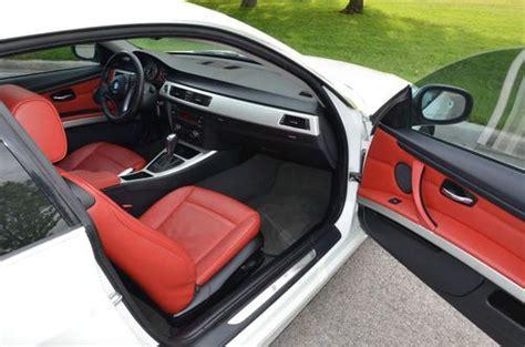 Buy Used 2010 Bmw 328xi Xdrive 4x4 Alpine White Red