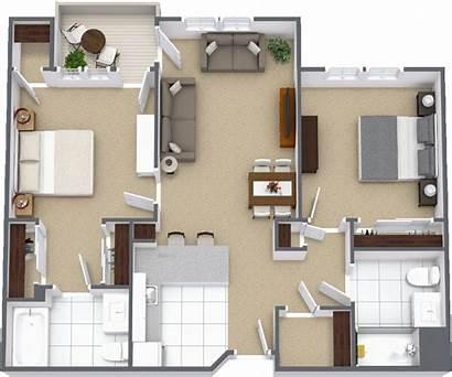 Bedroom Solano Rancho Village Living Unit