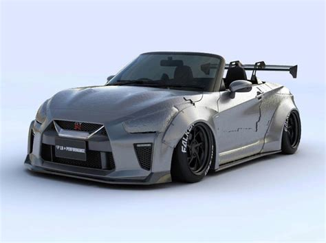 Tiny Nissan Gt-r Convertible By Liberty Walk Is Ultra