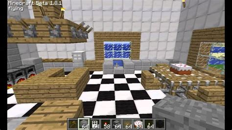 minecraft kitchen design  ideas youtube