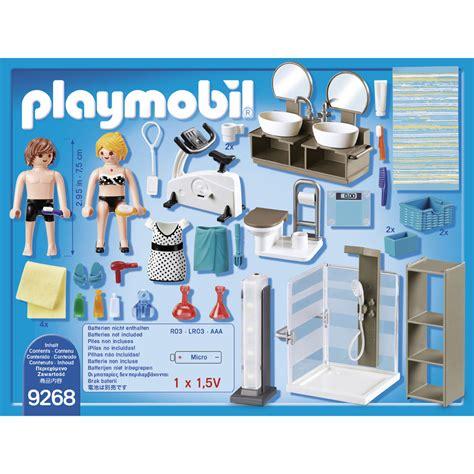 Salle De Bains Avec Douche Italienne Playmobil 9268 Blokker