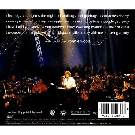 unpluggedand seated  rod stewart cd  mferion