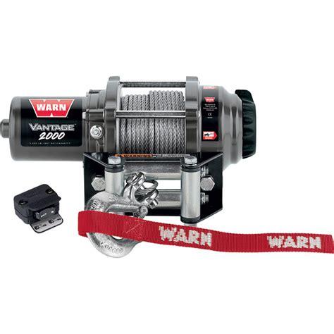 Warn Vantage Series Volt Powered Electric Atv