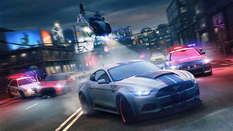 wallpaper video games city night   speed ford