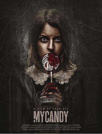 Horror Poster Movie Photoshop Posters Cc Candy