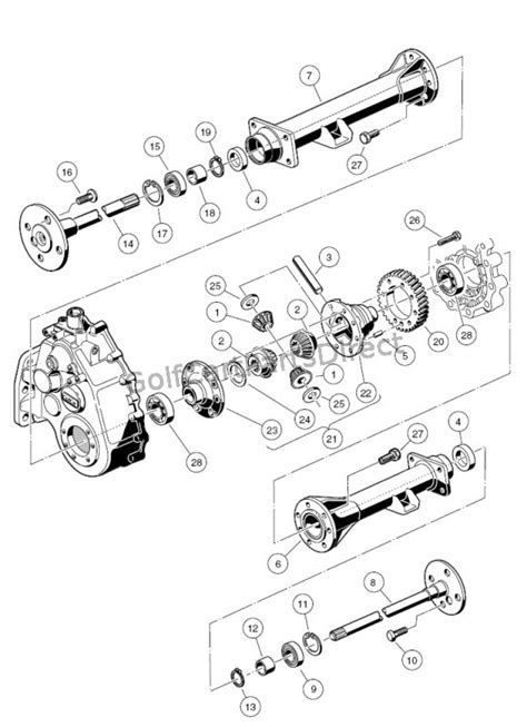 Club Car Xrt Part Diagram by Club Car Xrt 1550 Axle Parts Diagram Downloaddescargar