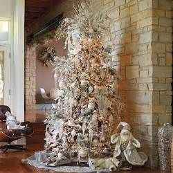 tree decorating ideas white and silver decorated