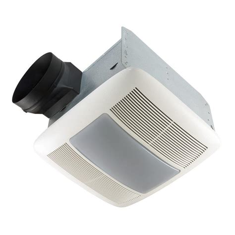 nutone qt series quiet  cfm ceiling bathroom exhaust