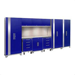 teal cabinets kitchen performance 2 0 blue 10 cabinet set with slatwall 2679