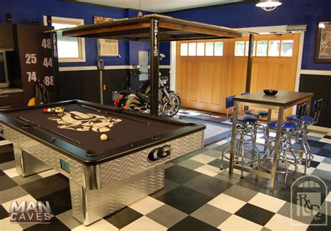 Creating The Ultimate Man Cave In The Garage  Home Trends
