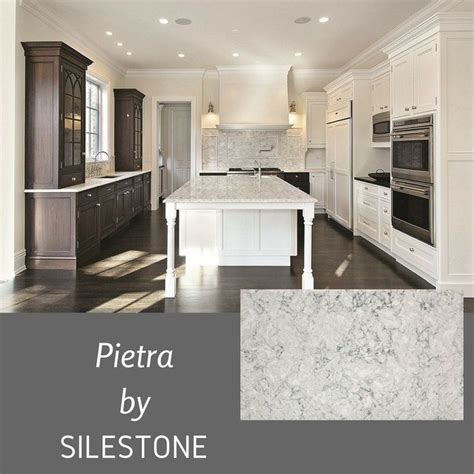 pietra quartz countertop white kitchen google search