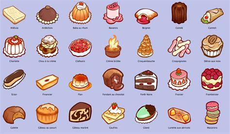 list of dessert names dessert shop on 45 pins