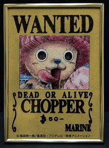 One Piece Crystal Wanted Posters (3/6)   Tokyo Otaku Mode ...