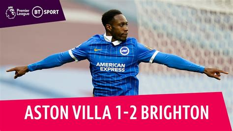 Aston Villa v Brighton (1-2) | Premier League highlights ...